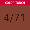 Color Touch 4/71 Medium Brown/Brown Ash Demi-Permanent