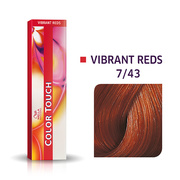 Color Touch 7/43 Medium Blonde/Red Gold Demi-Permanent