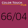 Color Touch Plus 66/04 Intense Dark Blonde/Natural Red Demi-Permanent