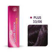 Color Touch Plus 33/06 Intense Dark Brown/ Natural Violet Demi-Permanent