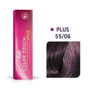 Color Touch Plus 55/06 Intense Light Brown/ Natural Violet Demi-Permanent