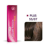 Color Touch Plus 55/07 Intense Light Brown/ Natural Brown Demi-Permanent